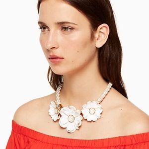 Kate Spade bright blossom statement necklace